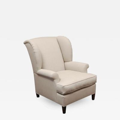 lee stanton editions an upholstered wing chair by lee stanton editions