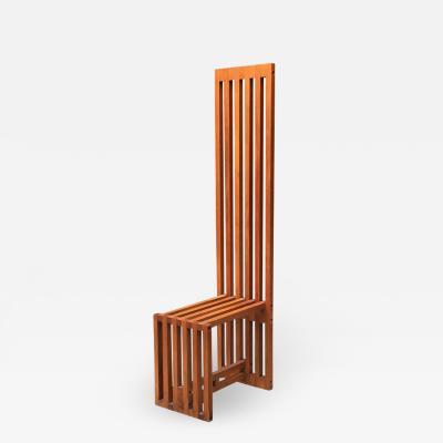 Lella Massimo Vignelli Chair mod Ara by Lella and Massimo Vignelli for Driade 1974