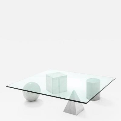Lella Massimo Vignelli Coffee table mod Metafora