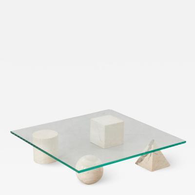 Lella Massimo Vignelli Vignelli Metafora coffee table Casigliani Italy 1979
