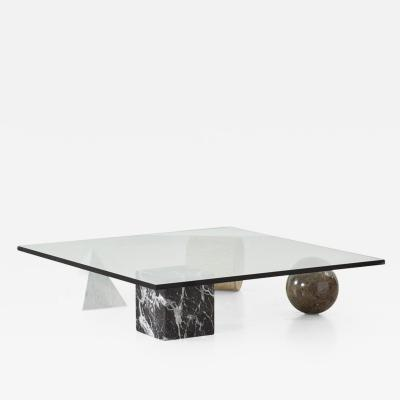 Lella Massimo Vignelli Vignelli Metafora coffee table Casigliani Italy 1979