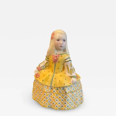 Lenci LENCI BEAUTIFUL LITTLE GIRL CERAMIC FIGURE