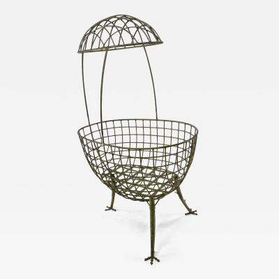 Les Lalanne Hen shaped astounding cradle in the style of lalanne