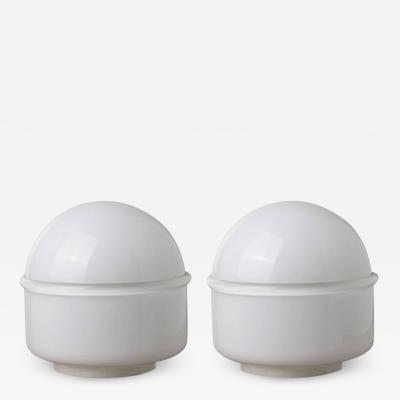 Leucos Pair of Tecla Table Lamps by Noti Massari for Leucos