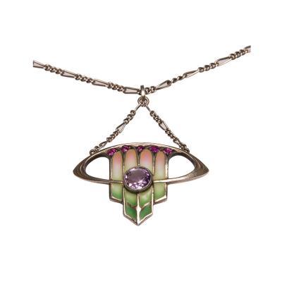 Levinger Bissinger Pendant by Levinger Bissinger Pforzheim Art Nouveau