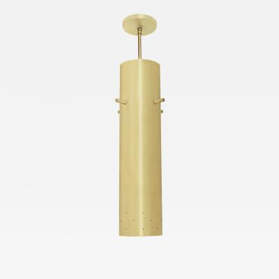 Lightolier Lightolier Chic Pendant Light in Brass 1950s