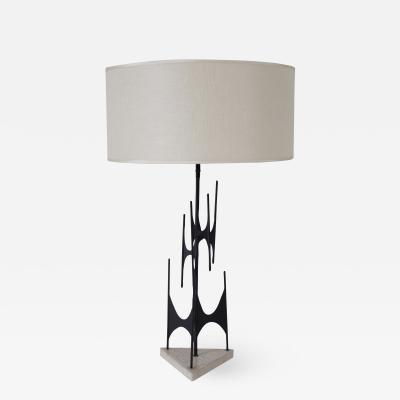 Lightolier Maurizio Tempestini Sculptural Table Lamp Italy 1953