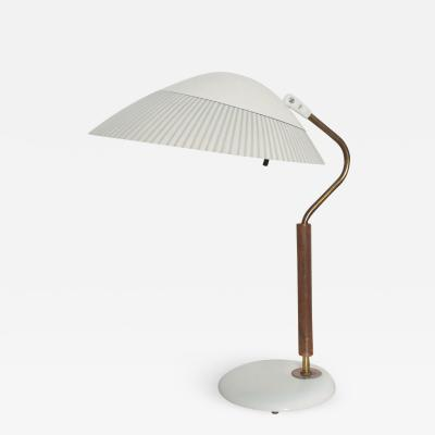 Lightolier Modern Midcentury Clamshell Table Desk Lamp by Gerald Thurston for Lightolier