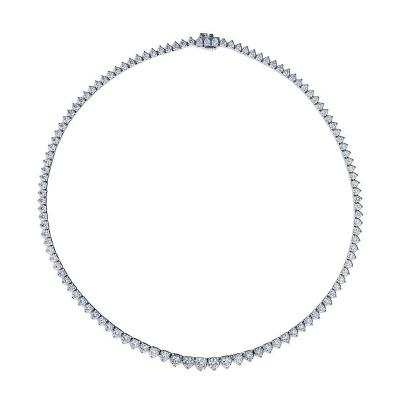 Link Co Diamond Riviera Necklace
