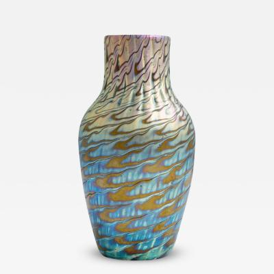 Loetz Highly Iridescent Loetz vase ca 1898 Phenomen Gre 7734
