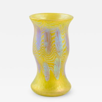 Loetz Loetz Vase Phenomen Gre 3 430 yellow ca 1903
