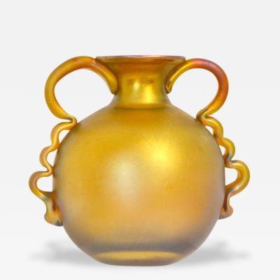 Loetz WMF Myra Technik Gold Iridescent Vase