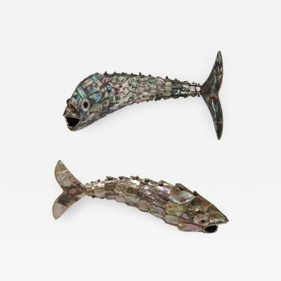 Los Castillo Articulated Abalone Brass Bottle Openers by Los Castillo