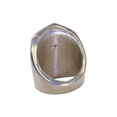 Los Castillo Mid Century Mexican Modernist Fashion Silver Ring