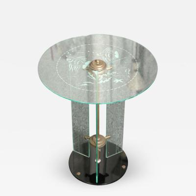 Luigi Brusotti Luigi Brusotti Side Table Made in Milan 1930