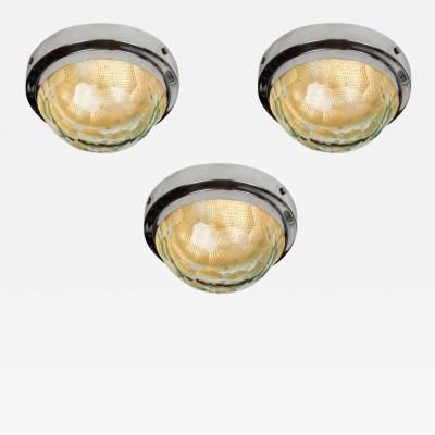 Lumi 1960s Pia Guidetti Crippa Multifaceted Wall or Ceiling Lights for Lumi