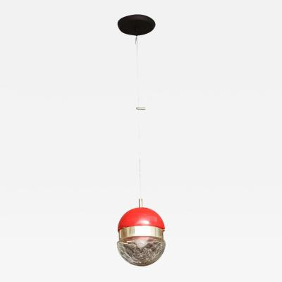 Lumi Lumi Pendant in Cut Glass with Plexiglass Made in Italy