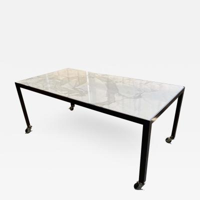 Lumifer by Javier Robles Stone Top Meeting Table by Javier Robles