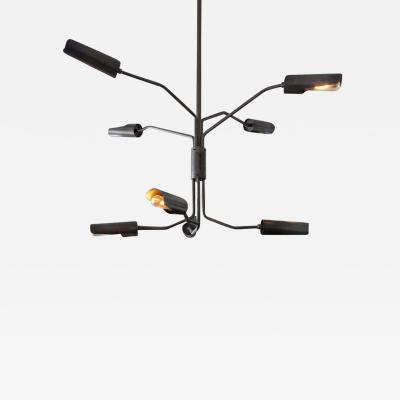 Lumifer by Javier Robles Switch 8 Arm Chandelier Floor Sample