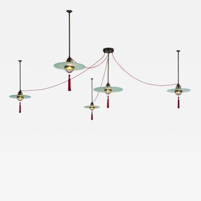 Lutyens Cardinal Hat Lights