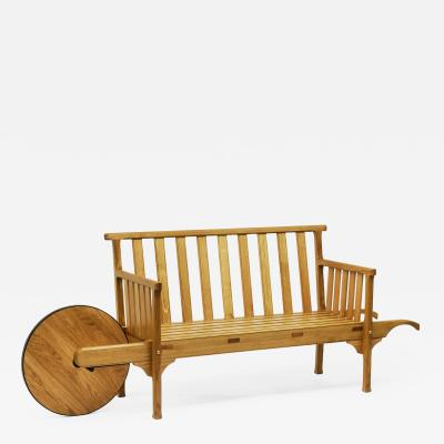 Lutyens Wheelbarrow Bench