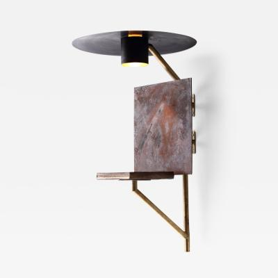 Luvere Studio The Mantis Brass LED Light Plant Grower Luvere Studio