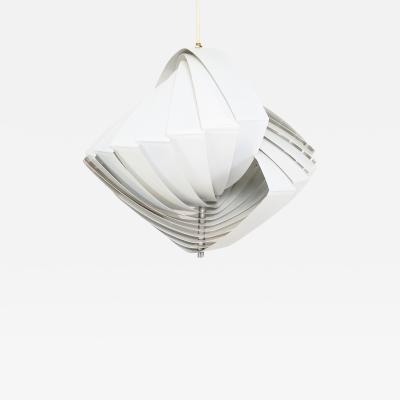 Lyfa Konkylie Concentric Ceiling Pendant Lamp Louis WEISDORF for Lyfa 1960s Denmark