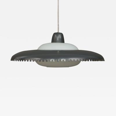 Lyfa Lyfa lacquered aluminium pendant lamp in Bent Karlby style