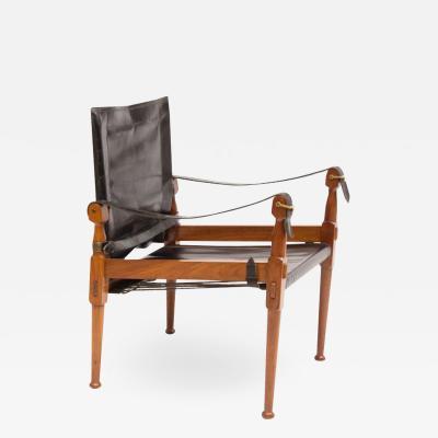 M Hayat Bros Midcentury Safari Chair by M Hayat Brothers