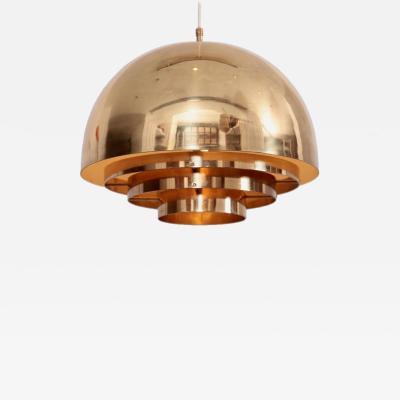 M nchner Werkst tten Brass Chandelier or Pendant Light by Vereinigte Werkst tten M nchen