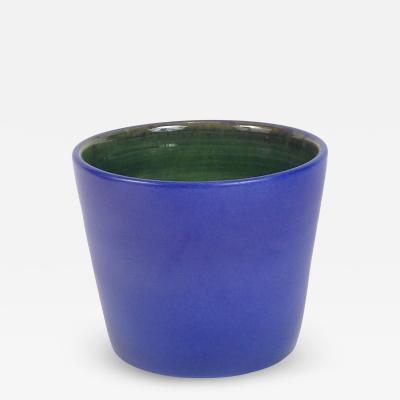 Madoura Madoura Blue Flower Pot