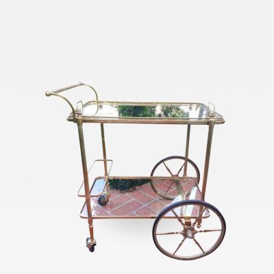 Maison Bagu s 1960s Maison Bagues Serving Cart