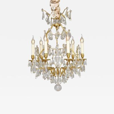 Maison Bagu s Early 20th c gilt bronze French chandelier by Maison Bagu s