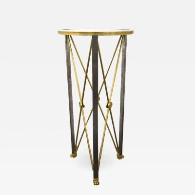 Maison Bagu s Empire style Stand in brass by Maison Bagu s circa 1960