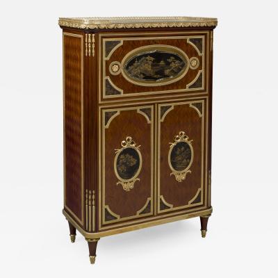 Maison Beurdeley A Louis XVI Style Petit Secretaire Cabinet