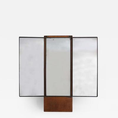 Maison Brot French Art Deco Dressing Triptych Dressing Mirror by Brot