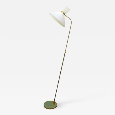 Maison Lunel Maison Lunel French Brass Articulating Floor Lamp