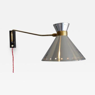 Maison Lunel Swing Arm Sconce by Lunel
