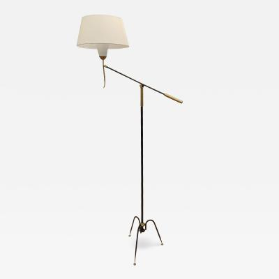 Maison Lunel T 644 floor lamp by Maison Lunel France circa 1950