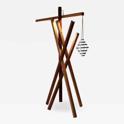 Mameluca Studio Contemporary Ninho Stand Lamp number 2 5 by Brazilian Studio Mameluca