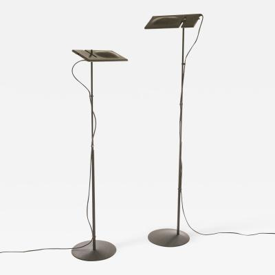 Marco Barbaglia and Marco Colombo Pair of Duna floor lamps by Barbaglia Colombo for PAF Studio 1980s
