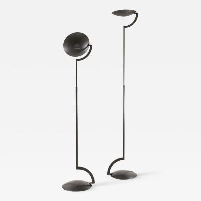 Marco Barbaglia and Marco Colombo Pair of Eco floor lamps by Mario Barbaglia Marco Colombo for Italiana Luce