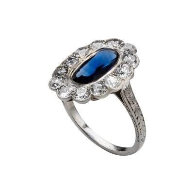 Marcus Co Marcus Sapphire Ring