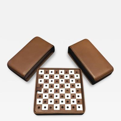 Mark Cross Mark Cross Miniature Travel Chess Set