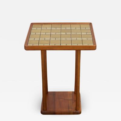 Marshall Studios Martz Ceramic Top Square Side Table
