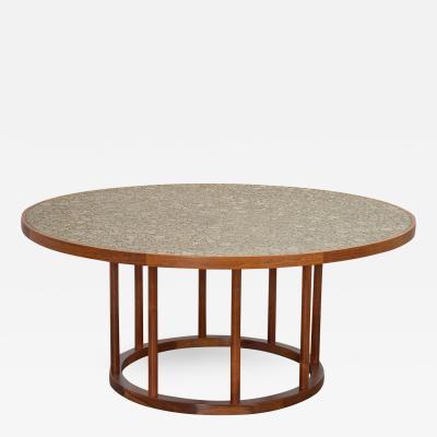 Marshall Studios Monumental Coin Tile Dining Table