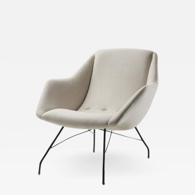 Martin Eisler Carlo Hauner Carlo Hauner Martin Eisler Shell Lounge Chair Brazil ca 1955