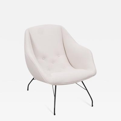 Martin Eisler Carlo Hauner Carlo Hauner Martin Eisler Shell chair Forma Brazil 1950s