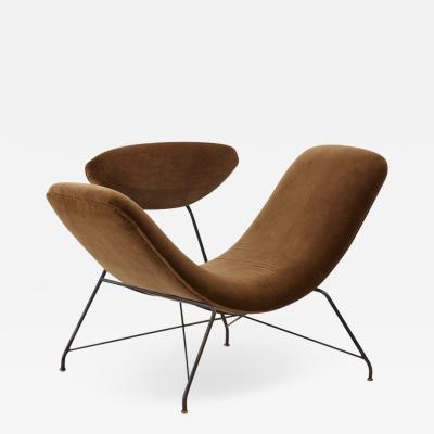 Martin Eisler Carlo Hauner Hauner Eisler Reversible chair Forma Moveis Brazil 1955