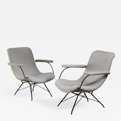 Martin Eisler Carlo Hauner Pair of Carlo Hauner and Martin Eisler lounge chairs Brazil